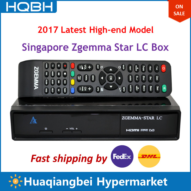 High-end Singapore Starhub Zgemma Star LC Ultra HD TV Set Top Box Receiver электрокотел savitr star ultra 15квт 380в