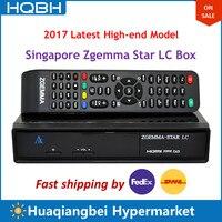 High-end Singapore Starhub Zgemma Stella LC Ultra HD TV Set Top Box Ricevitore