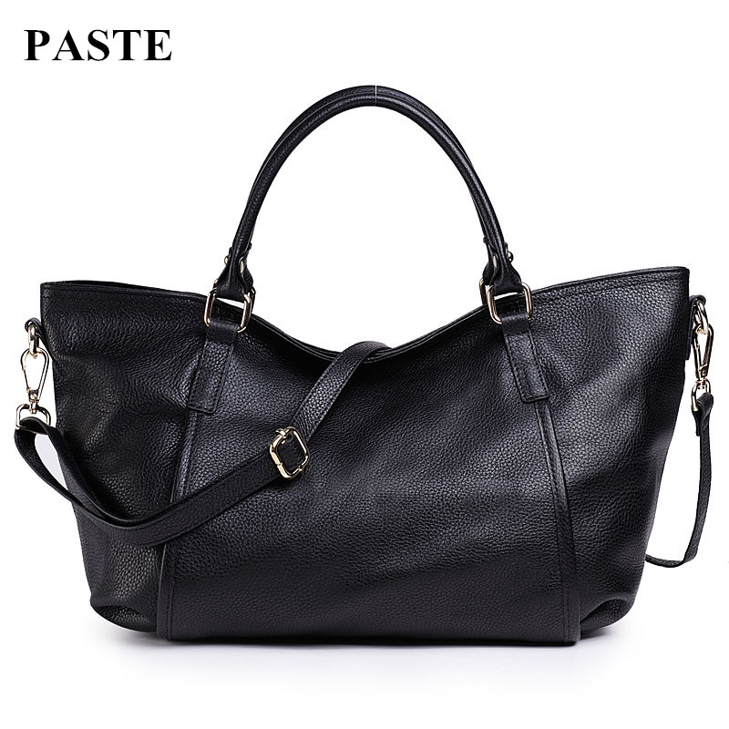 ФОТО 100% Real Cowskin European&American Fashion Style Women Handbags Tote Bags/ Genuine Leather Brand Design Shoulder Messenger Bags