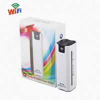 R7S Yeacomm 3g WCDMA UMTS HSPA Mini Portable Wifi Router With Sim Card And Power Bank