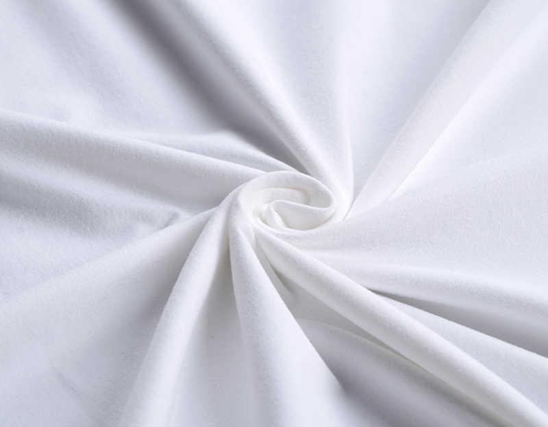 2019 の新ファッション O ネックアクティブパーソナライズされた偽スーツネクタイプリントデザイン白 Tシャツヒップホップ半袖 Tシャツ男性