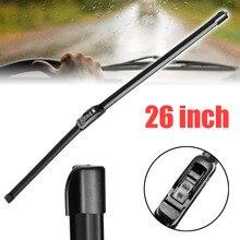 High Quality 1Pc 14 16 17 18 19 20 21 22 24 26 inch Universal U-Type Frameless Bracketless Rubber Car Windshield Wiper Blade