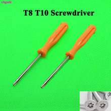 1Set Multifunctional TORX T8 + T10 Security Precision Screwdriver Tool For Xbox 360/ PS3/ PS4 Tamperproof Hole Home Improvement(China)