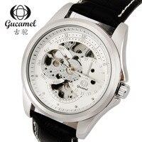GUCAMEL New Top Marca Mens Relógios de Pulso Oco Masulino Relogio de Luxo Masculino Relógio Mecânico Automático Relógios Resistentes À Água|Relógios mecânicos| |  -