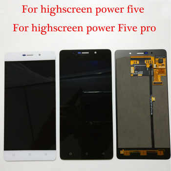 100% Tested NEW Original For Highscreen Power 5 Five Pro / Power Five 5 LCD Display + Touch Screen Digitizer Assembly Free Tools - DISCOUNT ITEM  6% OFF Cellphones & Telecommunications