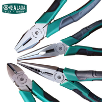 LAOA Japanese Type Pliers Wire Cutter Pliers Long Nose Nippers Diagonal Beading Cable Wire Side Cutter