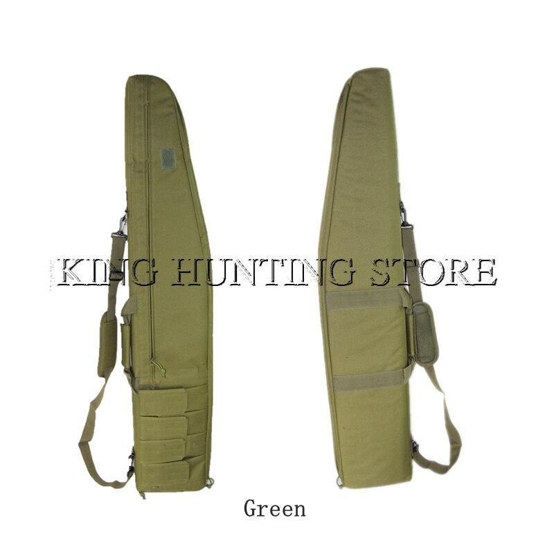 Pour 1.2 M fusil pistolet sac Oxford tissu militaire chasse tactique sac de transport pistolet étui de Protection sac à bandoulière avec 4 pochettes Mag