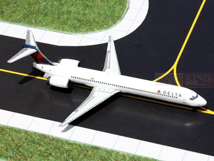 GeminiJets GJDAL1344 America MD-90 N902DA 1:400 Delta commercial jetliners plane model hobby