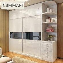 Деревянный шкаф/глянцевый дизайн гардероба для спальни