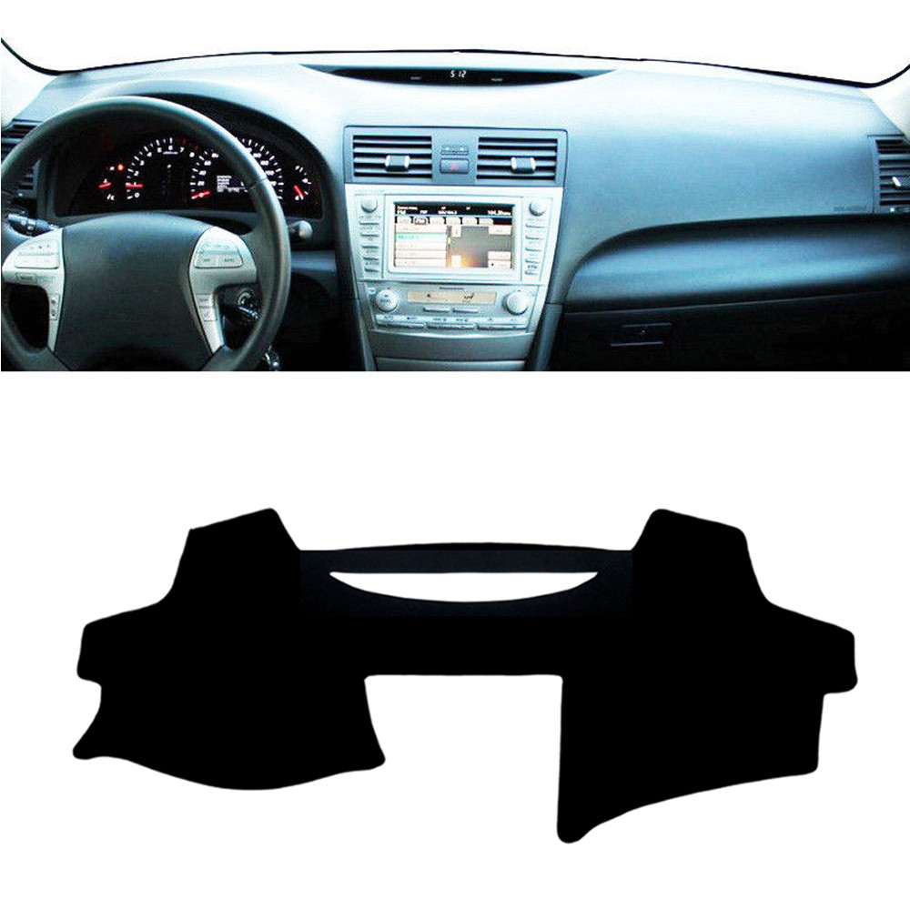 For Toyota Camry Xv40 2007 2011 Dashboard Mat Cover Pad Anti Uv Sun Interior Shade Instrument Protective Carpet Car Styling Accessories In Mouldings From