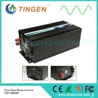 Pure Sine Wave output waveform,Free Shipping TEP 3000W 3KW inverter AC output 110V 120V 220V 230V 50HZ 60HZ 3000W invertor