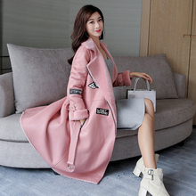 Factory direct supplier Women's Coat Genuine Leather natural wool Real sheepskin zipper bomber jacket long winter New fashion