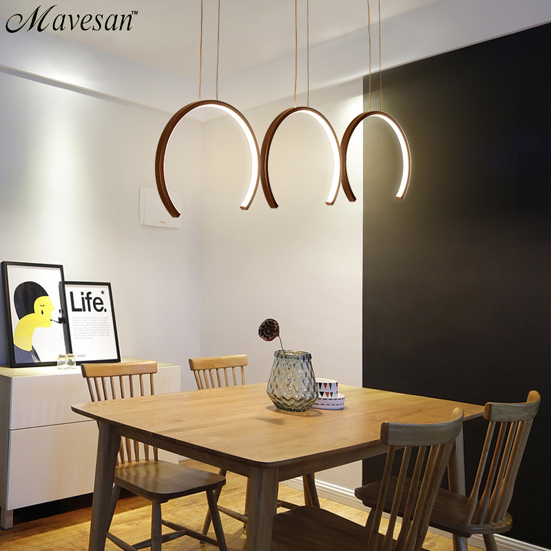 Aluminum Modern LED Pendant light White/Coffee Led Pendant Lamp For Dining Room Living Room Bedroom Lighting Fixtures AC85-260V simple creative modern led pendant light for living room dining room hanging lamp aluminum led pendant lamp lighting fixtures