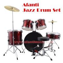 5 Drums 2 Crash Cymbals / purple color / Afanti Music Jazz Drum Set / Drum kit (AJDS-433)