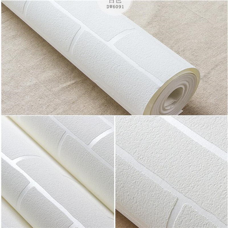 Paper Parede 3d Living Room Adesivo De Parede Bedroom Self-adhesive Brick Pattern Wallpaper Backdrop Wall Paper Roll