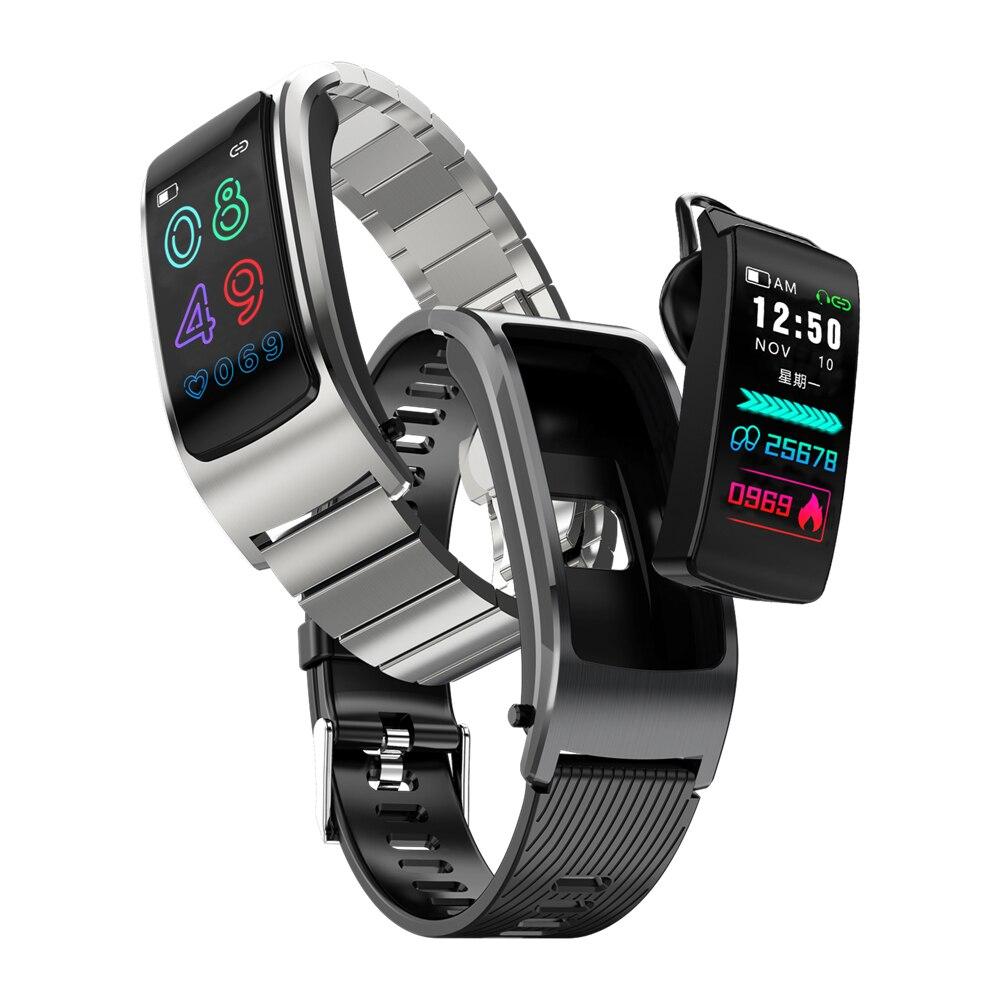 Letine F5 Bracelet intelligent automatique réponse d'appel fréquence cardiaque Sport Tracker prendre Photo Bracelet intelligent pour android IOS