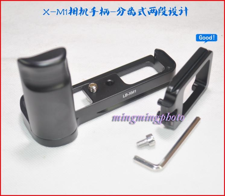 LB-XM1 Vertical Quick Release L Plate/Bracket Holder Grip for Fuji X-M1 XM1 X-A2 XA2 RRS SUNWAYFOTO Markins Compatible