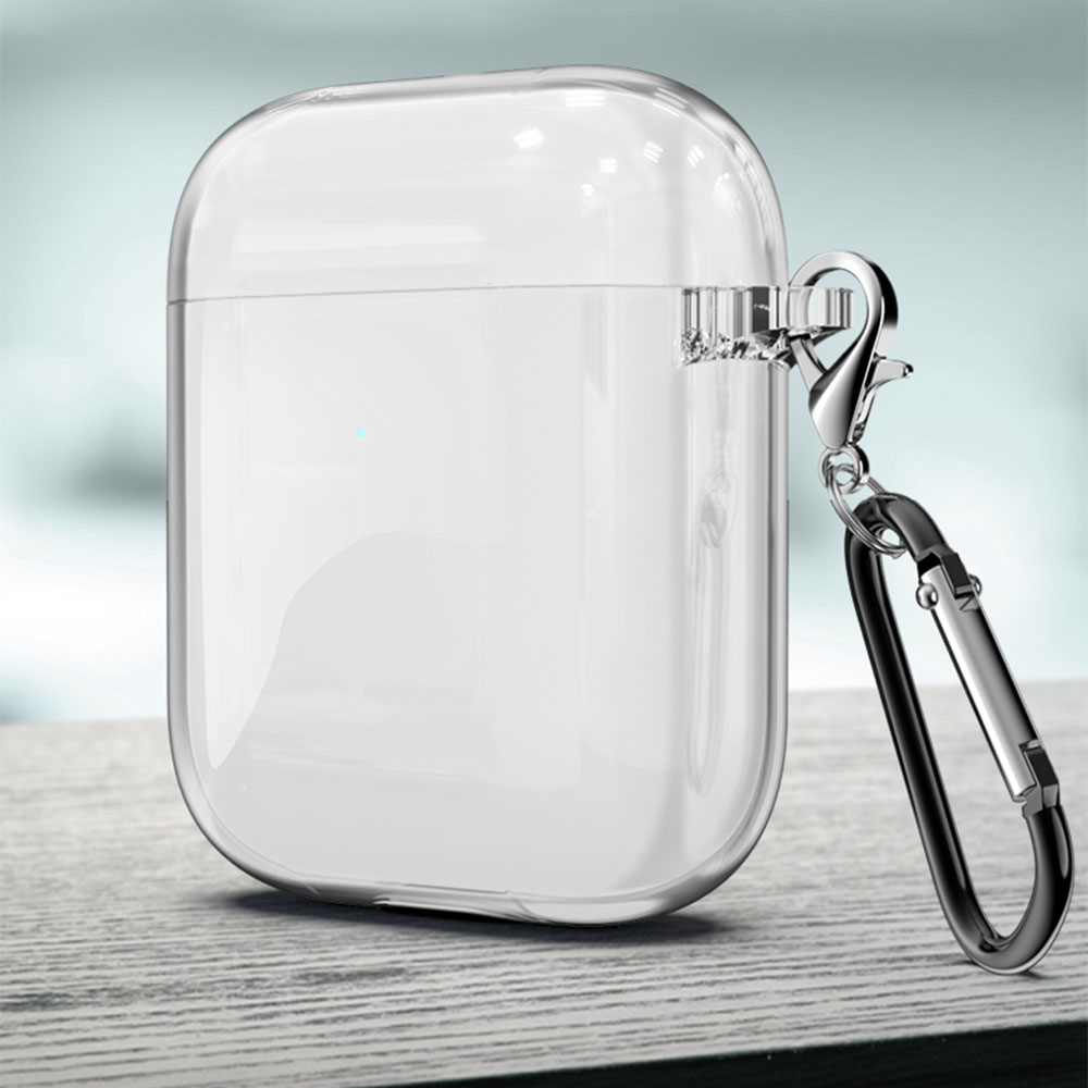 Soft Case for Airpods 1 2 TPU Transparent Cover Wireless Earphone Headphone Accessories