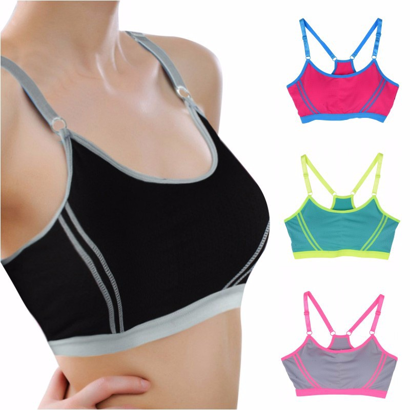 Fitness Women Yoga Top Sexy Push-up Sports Bra Yoga Fitness Vest Sport Bra Workout Running Top Bra 4