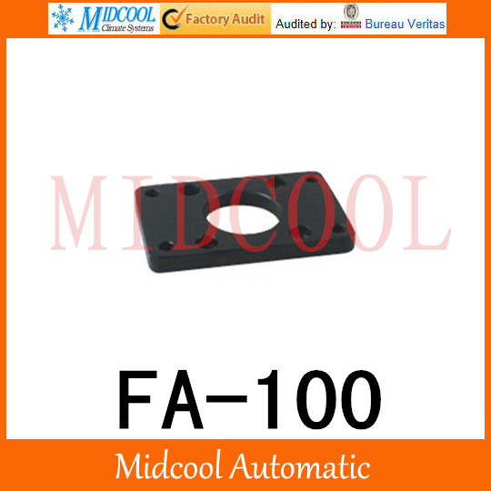 antall install 08 SC Install the flange plate cylinder FA-100 the flange diameter bore 100mm
