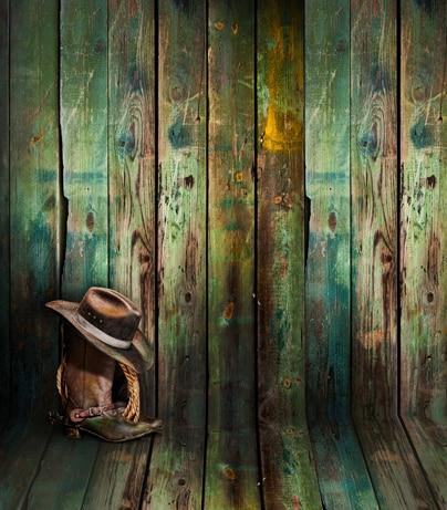 8x12ft Light Blue Green Stains Shabby Wooden Wall Boot Hat Woods Floor Custom Photo Backdrops Studio Backgrounds Vinyl 2 4x3 6m