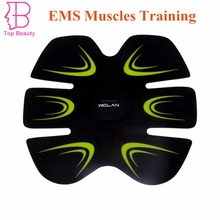 ABS Fit Training EMS Abdominal Muscles Exercise Intensive Loss Slimming Device Home Use
