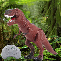 Novelty Funny Infrared Remote Control Dinosaur model Toys RC Electronic Pet Animal Festival Gift For Child Scary robot dinosaure