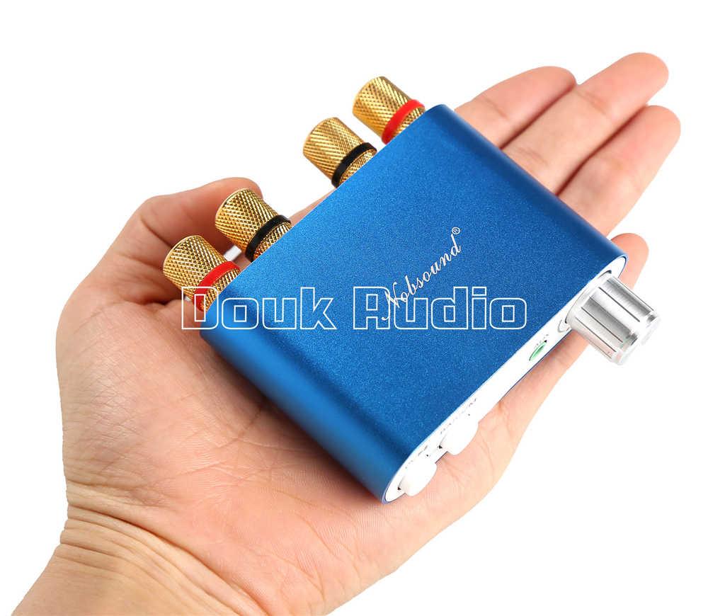 2018 последние Nobsound Hi-Fi TPA3116 Bluetooth 4,0 Мини-Цифровой усилитель стерео hifi-усилитель 100 Вт голубой цвет