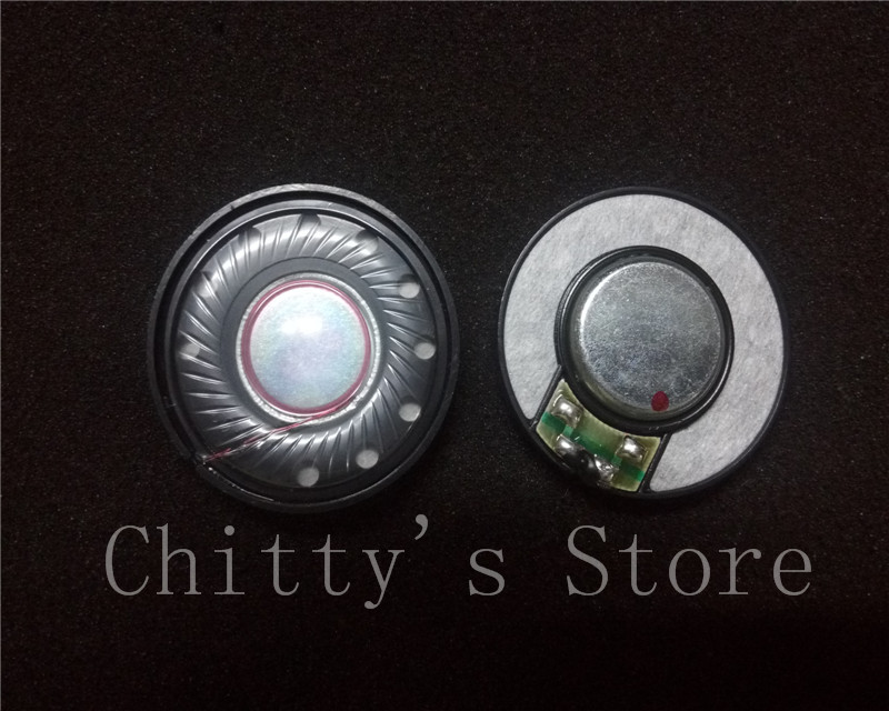 40MM font b speaker b font 16core DIY headphone font b speakers b font 32ohm 1pair