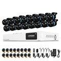16-КАНАЛЬНЫЙ AHD 1080 P DVR Kit Открытый Системы Камеры Безопасности Onvif 16 ШТ. Водонепроницаемый ИК-Камеры комплект системы сигнализации безопасности дома