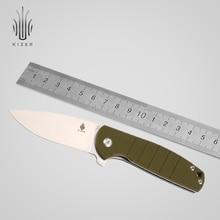 Kizer folding pocket knife flipper knife V3471A2  VG10 Blade  high quality hand tool