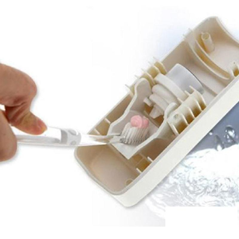 SOLEDI Auto automātiskā zobu pastas dozators +5 zobu birstes - Mājsaimniecības preces - Foto 3
