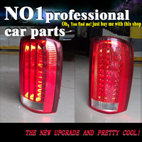 OUMIAO Car Style For GMC Yukon Taillights 2000 2007 Taillight LED DRL Rear Lamp Good quality Back Light Red Color