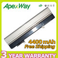Apexway 11.1v 4400mAh Laptop Battery for Dell Latitude E4300 E4310 FM332 FM338 HW905 XX337 0FX8X 312-0822 451-10636 451-11460
