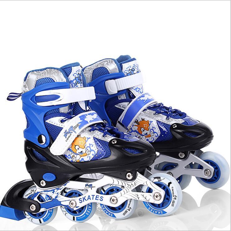 Alta qulity crianças/patins adultos sapatos confortáveis e macios com tamanho s/m/l sapatos de skate respirável e wearable