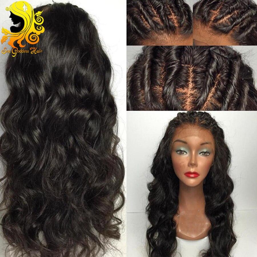 online get cheap glueless full lace human hair wigs