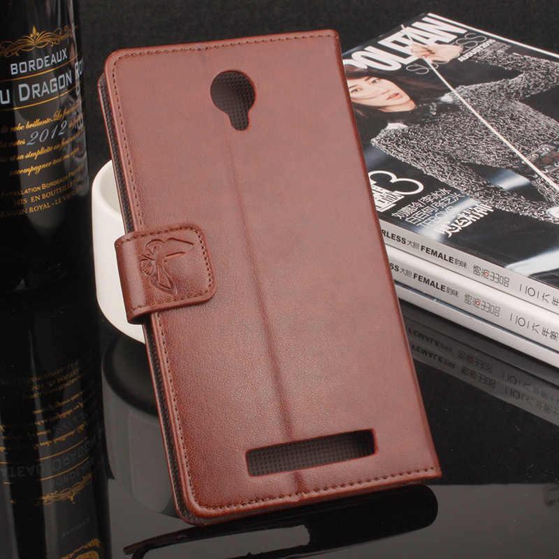 HongBaiwei for Blackview BV5000 Case Cover Printed Floral Leather Wallet Card Holder Flip Phone Bag Case for Blackview BV5000