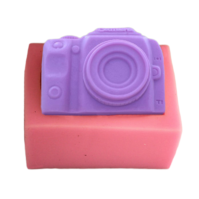 Simulation 3D Camera Polymer Clay Mould DIY Handmade Soap ...