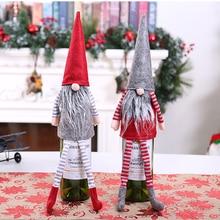 Рождество Санта-Клаус Снеговик для бутылки крышка мешок бутылки вина Декор рождественские украшения для дома год Рождество ужин вечеринка