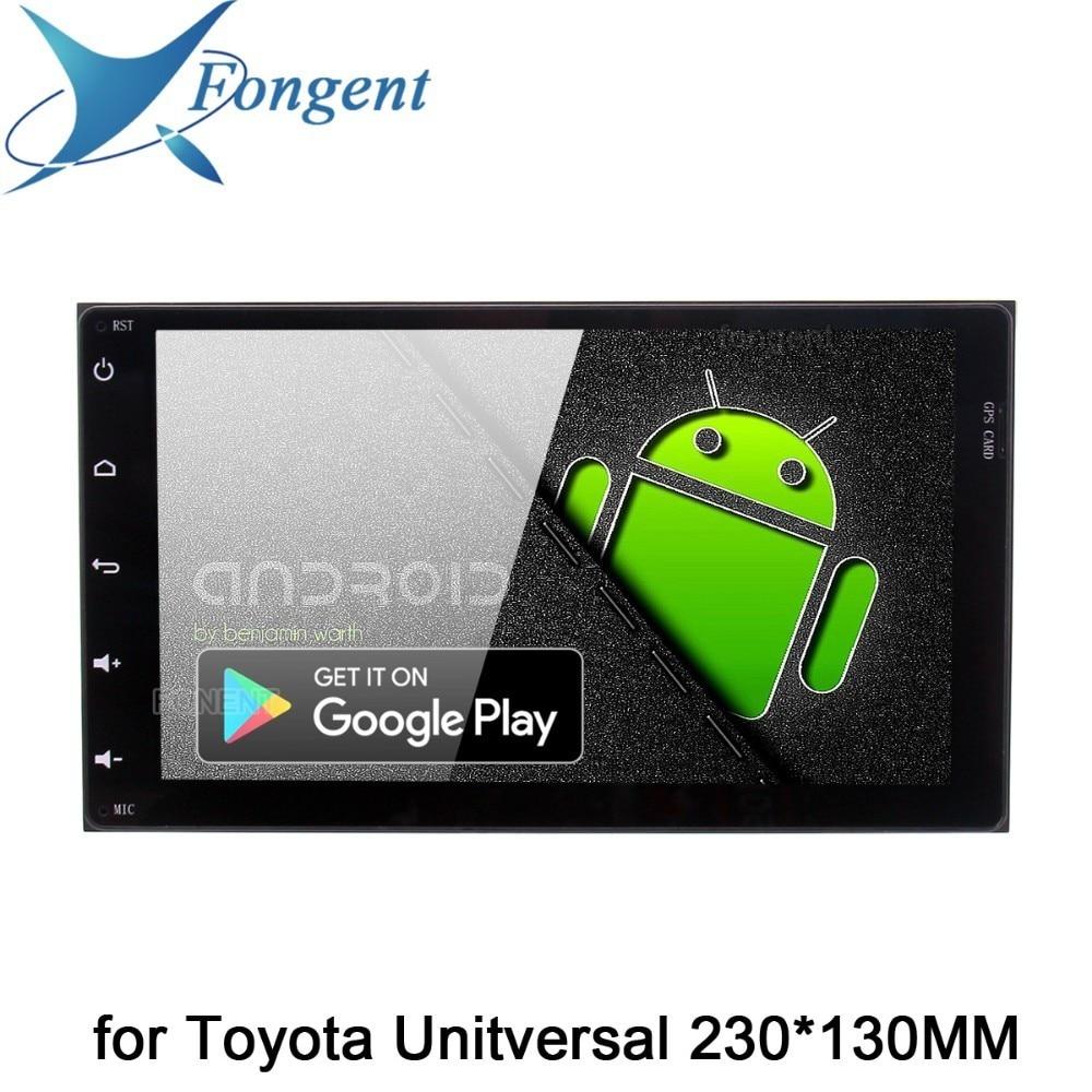 Android 9.0 Autoradio 2 Din GPS Navi per Toyota Corolla Auris Auris Fortuner innova 2017 2018 PX6 DSP IPS 4 Gb + 64 Gb RDS WIFI BT