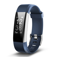 New Fitness Smart wrist Band Heartrate Blood Pressure Oxygen Oximeter Sport Bracelet Watch intelligent For iOS Android