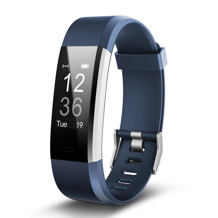 Nouveau Fitness Bracelet intelligent bande de cœur tension artérielle oxymètre d'oxygène Sport Bracelet montre intelligente pour iOS Android