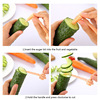 1pc hot high quality carrot spiral slicer kitchen cutting models potato cutter cooking accessories home gadgets