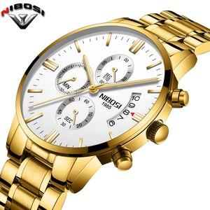 2019 NIBOSI Luxury Brand Watch