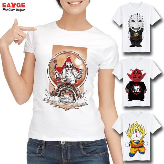 Dragon Ball Super Z GT Fashion T-shirt Goku Super Saiyan God Tshirt Casual Japanese Popular Anime T-shirt Men Women Printed Tee