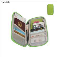 Wielofunkcyjna Travel Passport Cover portfel przenośna karta kredytowa pakiet Storage Organizer sprzęgło Money Bag Travel akcesoria tanie tanio Akcesoria podróżne HMUNII-A03-4-007-1 W HMUNII 2 cm 13cm Portfele paszportowe Poliester Stałe 120g 25cm jak pokazuje obraz