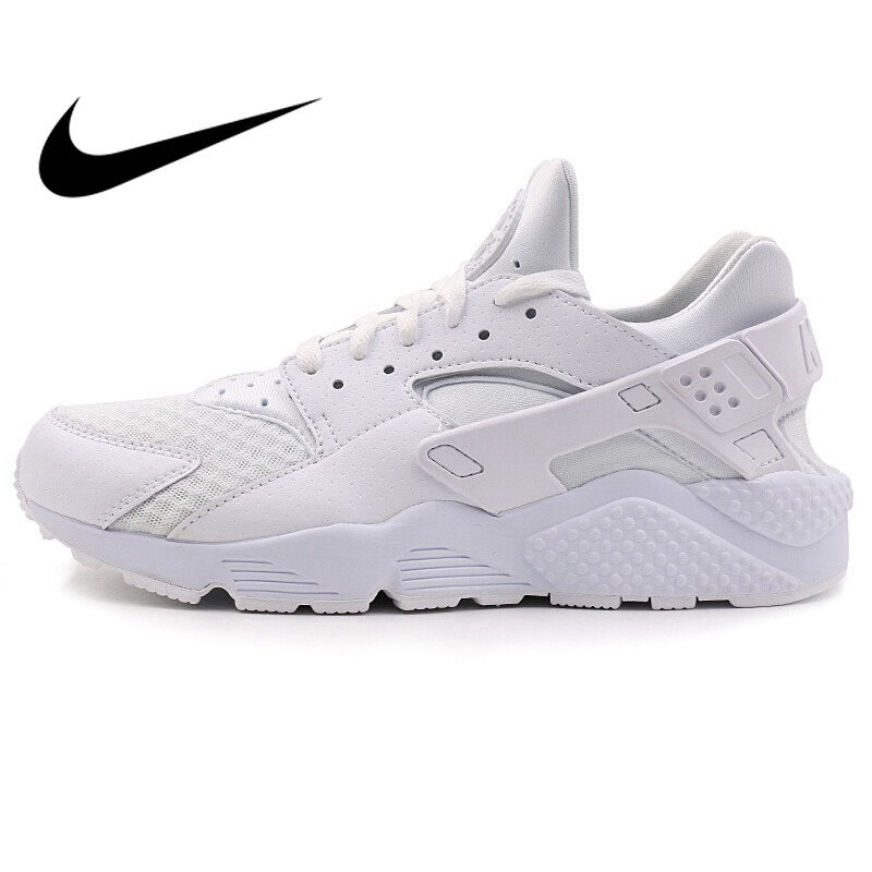 best loved 4e6f7 2a490 Original Authentic NIKE Air Huarache Men s Running Shoes Sneakers Outdoor  Sports Designer Athletics Official Breathable 318429