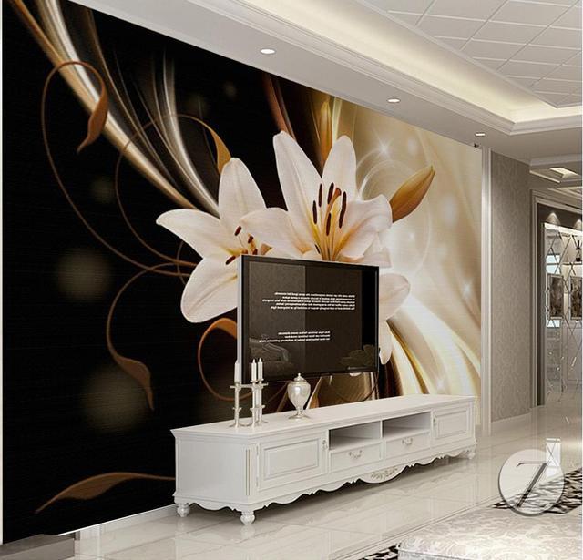 New Europese luxe behang voor muren mode foto muur mural woonkamer &RY13