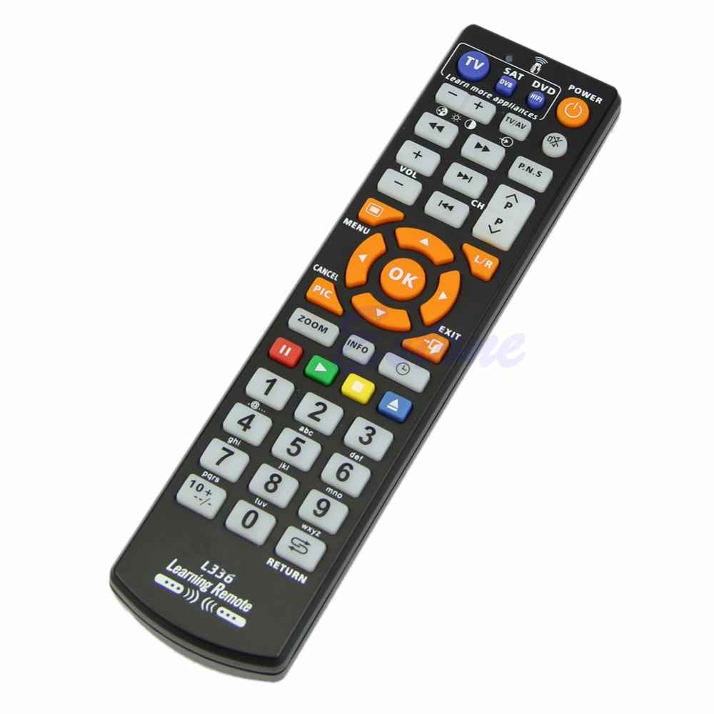 OOTDTY Universal Smart Remote Control Controller With Learn Function For TV CBL DVD SAT