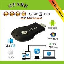 Новый Ezcast М2 iii беспроводной hdmi wi-fi дисплей allshare cast dongle адаптер miracast TV stick Приемник Поддержка windows ios andriod